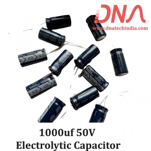 1000uf 50V Electrolytic Capacitor