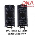 100 Farad 2.7 volts super capacitor