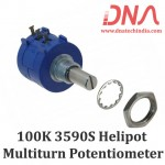 100K Ohm 3590S Helipot Precision Multiturn Potentiometer