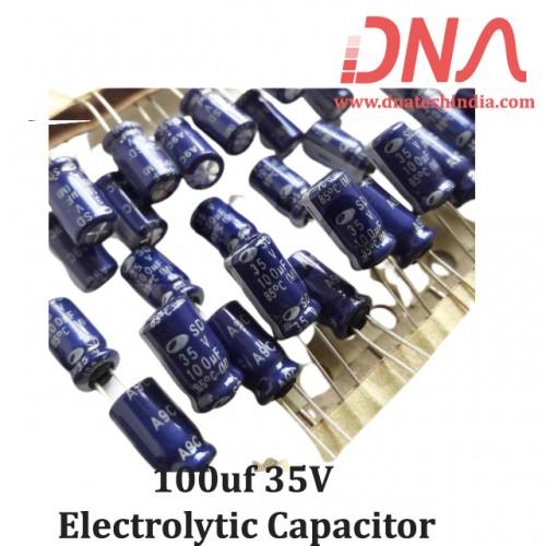 100uf 35V Electrolytic Capacitor