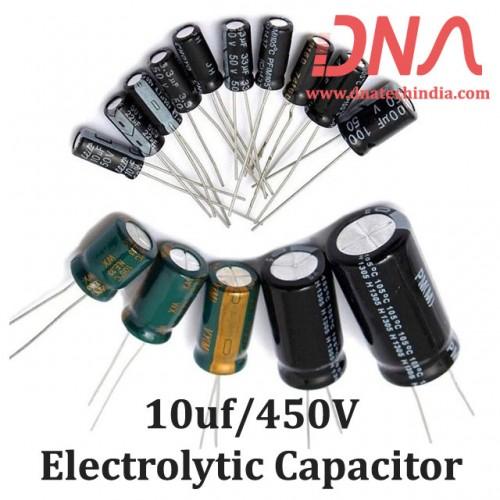10uf 450V Electrolytic Capacitor