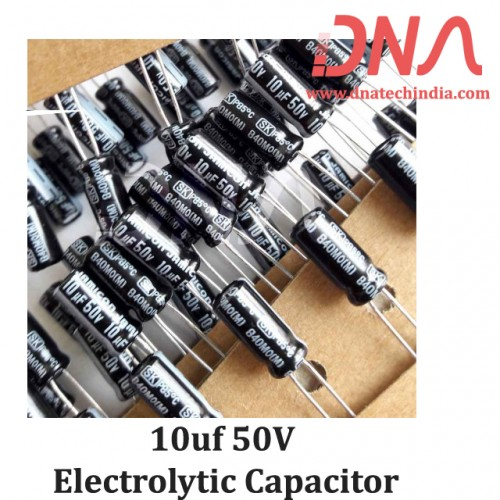 10uf 50V Electrolytic Capacitor