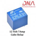 12 Volt 7A Cube relay