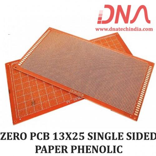 ZERO PCB 13X25 SINGLE SIDED PAPER PHENOLIC