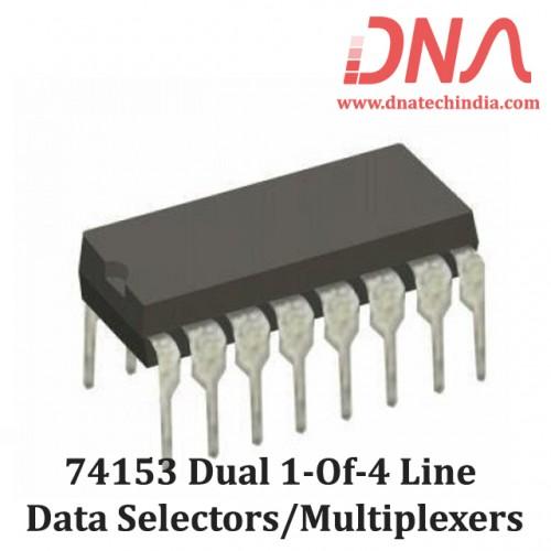 74153 Dual 1-of-4 Line Data Selectors/Multiplexers