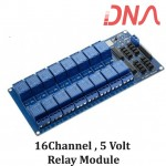 16 Channel 5 Volt Isolated Relay Module
