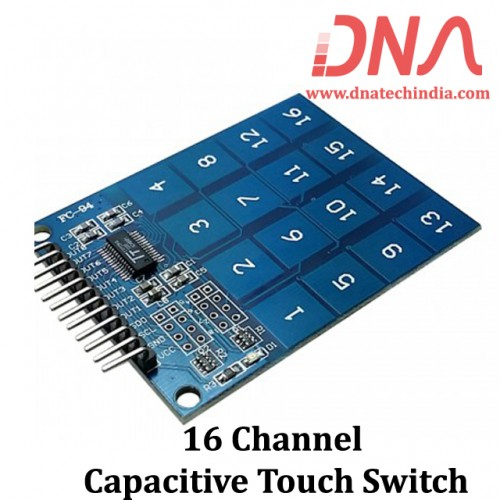 16 Channel Capacitive Touch Switch