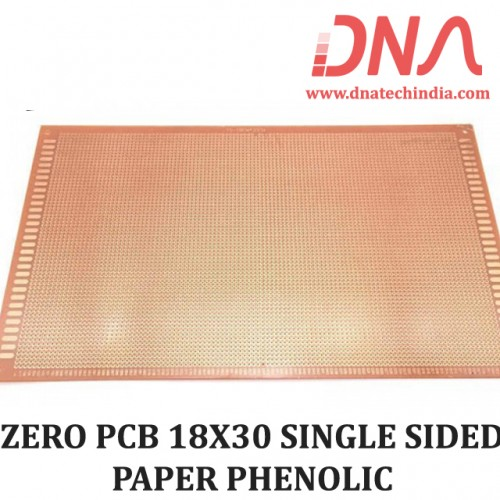 ZERO PCB 18X30 SINGLE SIDED PAPER PHENOLIC