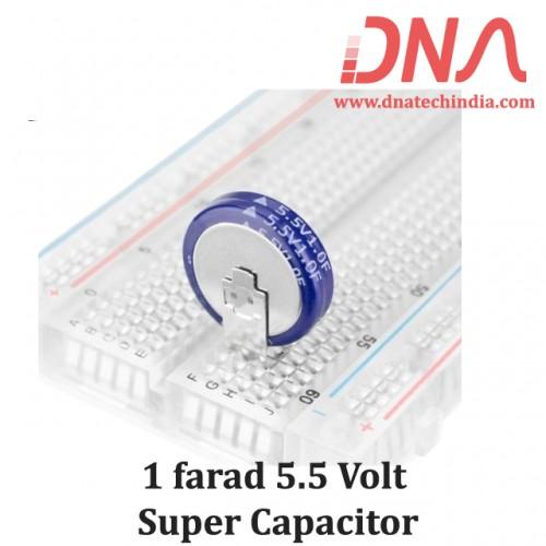 1 farad 5.5 Volt Super Capacitor
