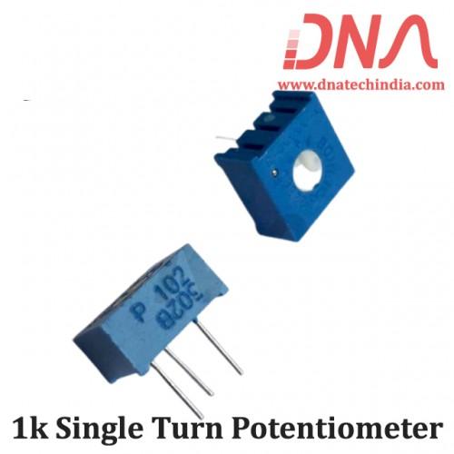 1k Single Turn Potentiometer