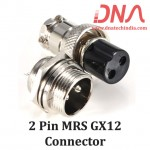 2 PIN MRS GX12 Connector