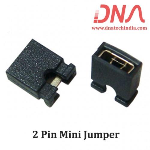 2 Pin Mini Jumper 2.54 mm Closed Type