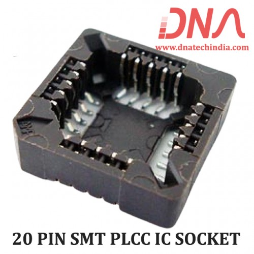 20 PIN SMT PLCC IC SOCKET