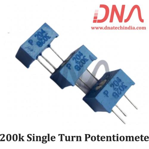 200k Single Turn Potentiometer