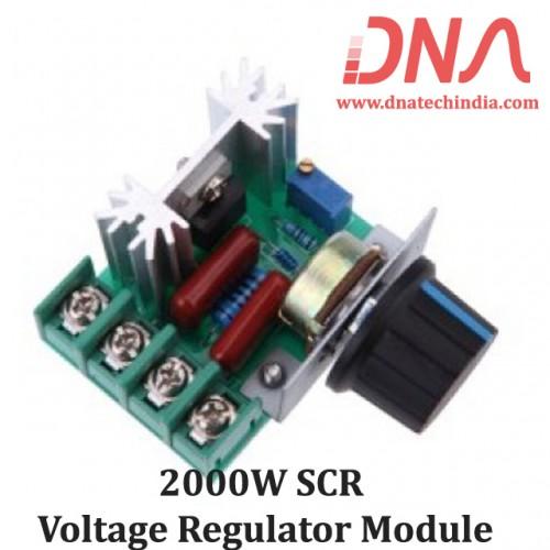 2000W SCR Voltage Regulator Module
