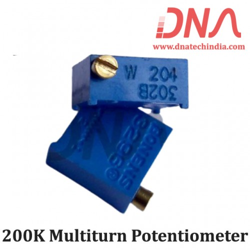200K Multiturn Potentiometer