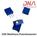 20K Multiturn Potentiometer