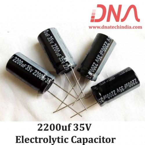 2200uf 35V Electrolytic Capacitor