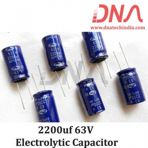 2200uf 63V Electrolytic Capacitor