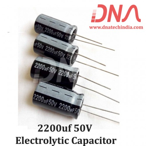 2200uf  50V Electrolytic Capacitor