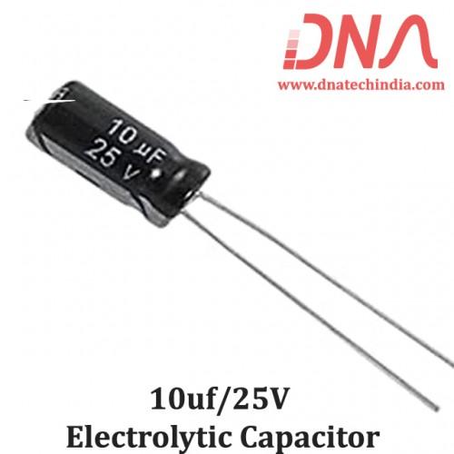 10UF/25V ELECTROLYTIC CAPACITOR