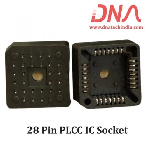 28 Pin PLCC IC Socket