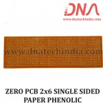 ZERO PCB 2X6 SINGLE SIDED PAPER PHENOLIC