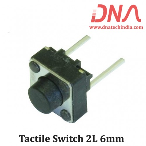 Tactile Switch 2L 6mm