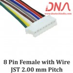 8 Pin 2.0mm JST Female Connector