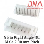 8 Pin 2.0mm JST PH Right Angle Male Connector