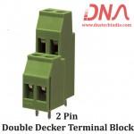 2 Pin Double Decker Terminal Block