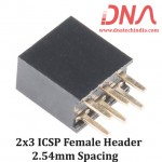 2x3 2.54 mm Berg Strip - Straight Female ICSP Header
