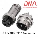 3 PIN MRS GX16 Connector