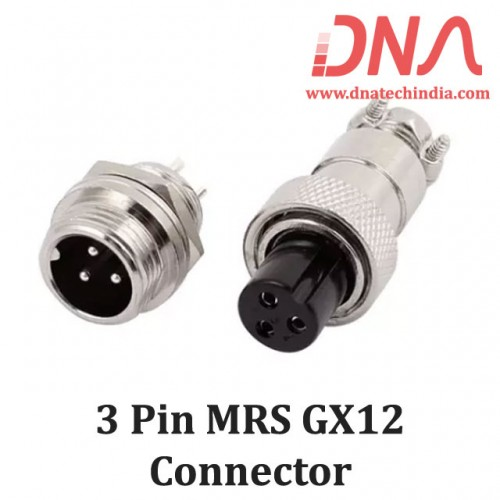 3 PIN MRS GX12 Connector
