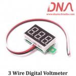 3 Wire Digital Voltmeter