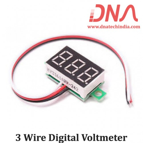 3 Wire Digital Voltmeter