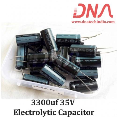 3300uf 35V Electrolytic Capacitor