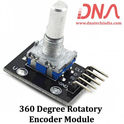 360 Degree Rotatory Encoder Module