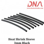 Heat Shrink Sleeve 3mm Black