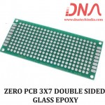 ZERO PCB 3X7 cm DOUBLE SIDED GLASS EPOXY