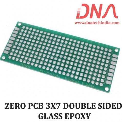 ZERO PCB 3X7 cm DOUBLE SIDED GLASS EPOXY