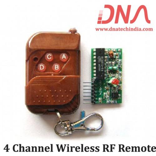 4 Channel Wireless RF Remote