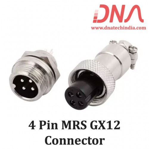 4 PIN MRS GX12 Connector