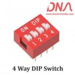 DIP switch 4 Way