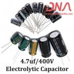 4.7uf 400V Electrolytic Capacitor