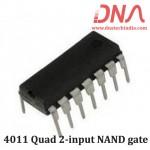 4011 Quad 2-input NAND gate