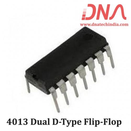 4013 Dual D-type flip-flop