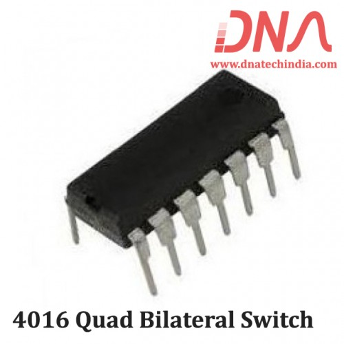 4016 Quad bilateral switch