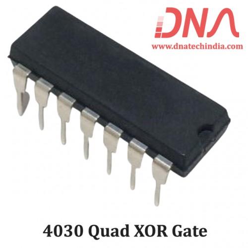 4030 Quad XOR gate