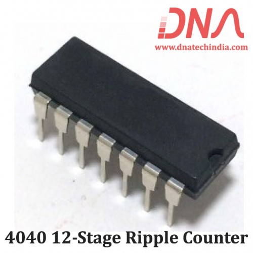 4040 12-stage Ripple Counter